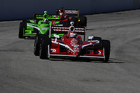 Scott Dixon, Dario Franchitti, Graham Rahal, Indy Car Series