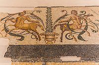 Roman Mosaics at the Orange Museum adjacent to the Roman Amphtheater has several ancient mosaics that have been preserved through the age.