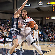 Gonzaga beat Saint Mary's Jan. 14 at the Kennel to extend their record to 17-0. (Gonzaga University photo by Edward Bell)