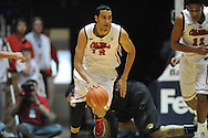 """Mississippi's Anthony Perez (13) vs. Missouri at the C.M. """"Tad"""" Smith Coliseum in Oxford, Miss. on Saturday, February 8, 2014. (AP Photo/Oxford Eagle, Bruce Newman)"""