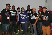August 25, 2012-Brooklyn, NY: Recording Artist Cannabinoids backstage at the Afropunk Festival 2012 held in Brooklyn, NY on August 25, 2012. The Afropunk Festival has become a Brooklyn intuition, the focal point for the burgeoning Afro-punk movement. Over the past seven years, the festival has presented new artists before they hit it big, such as Grammy-nominated Santigold, The Noisettes and Janelle Monae. Afro-punk mainstays like Saul Williams, The Dirtbombs, and Dallas Austin have also graced Afro-punk's stages. (Terrence Jennings/TerrenceJennings.com)