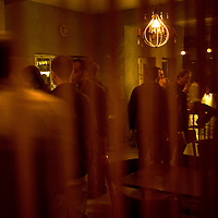 Palestinians enjoy ramallah nightlife at the Beit Hanisse bar in Ramallah..Credit photo: Olivier Fitoussi.
