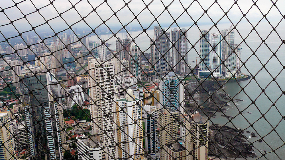 Vista de Punta Pacifica, Panama City.