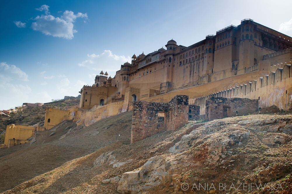 India, Rajasthan. Amber Fort.