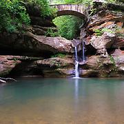 &quot;Old Man's Cave Upper Falls&quot;<br /> <br /> Hocking Hills Ohio.