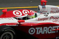 Ryan Briscoe at the Richmond International Raceway, SunTrust Indy Challenge, June 25, 2005