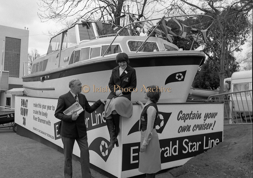 Emerald Star Line, Boat Show 12/04/1978