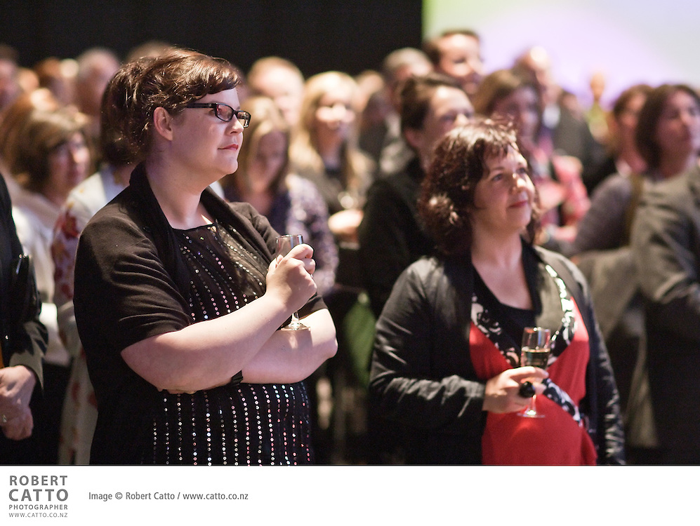 Guests, sponsors, artists and patrons met at the launch of the programme for the New Zealand International Arts Festival 2010, introduced by chair Fran Wilde, Minister Gerry Brownlee and Artistic Director Lissa Twomey.