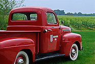 Bedell Winery Red Truck