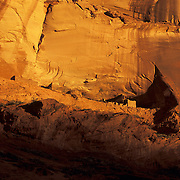 First Ruin in Canyon de Chelly National Monument on the Navajo Reservation, Arizona. .