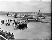 1956 - Blessing of the Aer Lingus fleet at Dublin Airport