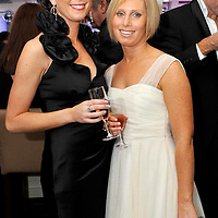 -FREE PICTURE / NO REPRODUCTION FEE-.Pictured at the annual Black and White Ball in the Blue Haven Hotel, Kinsale were Ann Marie Collins and Holly Murphy, Kinsale..Pic. John Allen