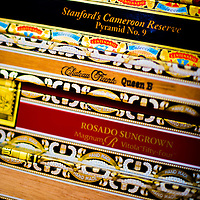 TAMPA, FL -- July 2012 -- Boxes are stacked at the Tampa Sweetheart Cigar Company in Ybor City. (PHOTO /CHIP LITHERLAND)