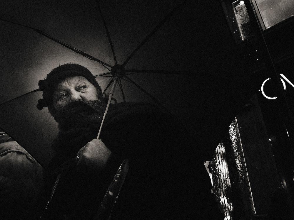 Street Photography, Italy, Lombardy, Milan, Milano, dark