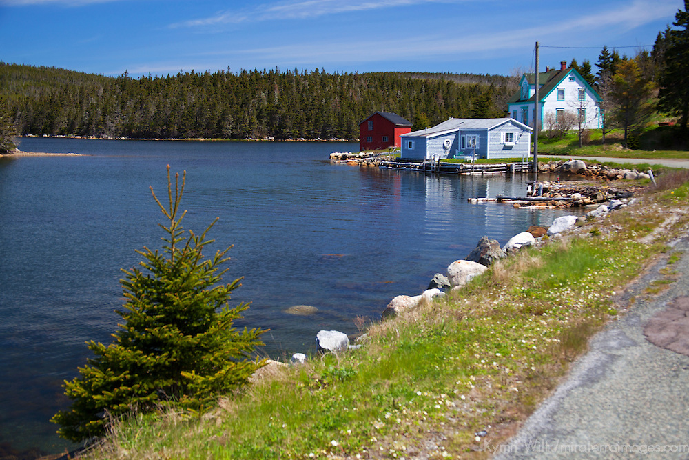 North America, Canada, Nova Scotia, Guysborough County. Waterfront road.