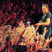 Bruce Springsteen and the E Street Band  in concert in Paris France,on July 4th 2012 at Palais Omnisports de Paris Bercy.