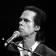 THE HAGUE solo world tour concert van Nick Cave in het World Forum Theater in Den Haag COPYRIGHT ROBIN UTRECHT