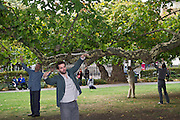 'Square Dances' choreographed by Rosemary Lee as part of Dance Umbrella 2011. Four pieces in seperate London squares.