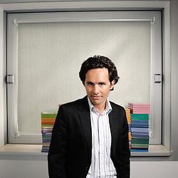 Axel Bernia, DG de Smart Box. Levallois-Perret, France. 3 Septembre 2009. Photo : Antoine Doyen