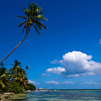 San Andrés  is a coral island among the Colombian islands in the Caribbean Sea