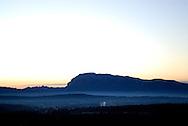 France, Languedoc Roussillon, Hérault, le Pic Saint Loup