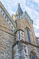 Church steeple in Hudson New York