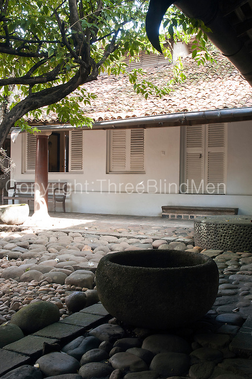 The Ena de Silva house. 5, Alfred Place. Colombo 3. .Architect: Geoffrey Bawa.