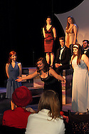 Students perform the best of Broadway during a dress rehearsal before the 13th Annual ArtsGala at Wright State University's Creative Arts Center, Saturday, March 31, 2012.