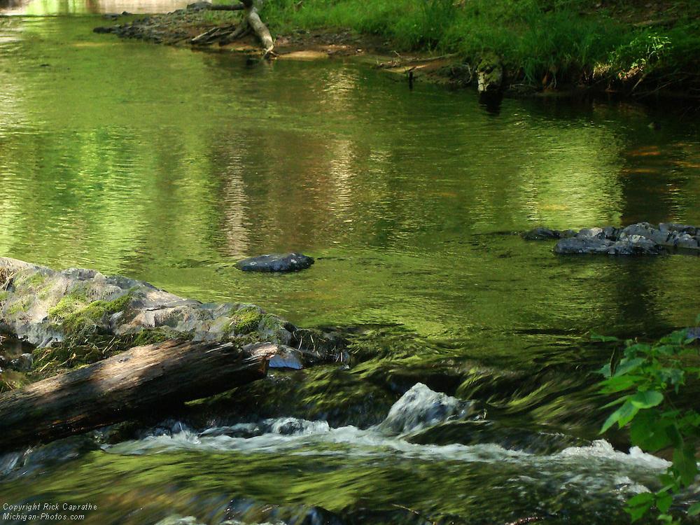 O-Kun-De-Kun Falls Reflections, Ontonagon,  Michigan's Upper Peninsula