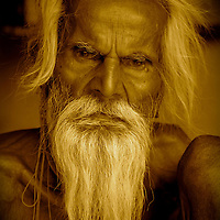 A sadhu in Northern India