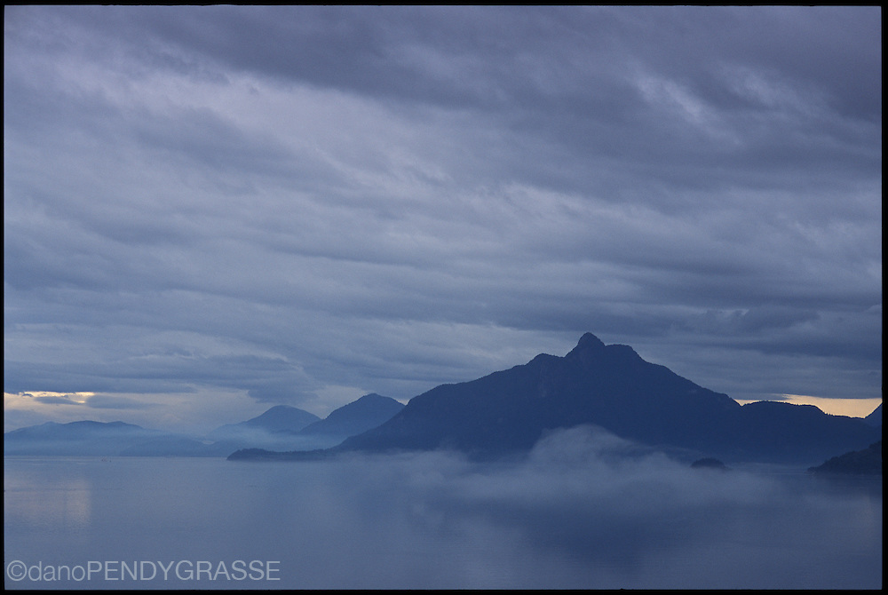 Howe Sound south of Squamish