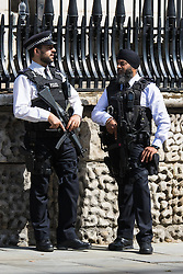 London, August 15th 2015. Heightened security as  HM Queen Elizabeth attends St Martin-in-the-Fields church for a service commemorating the 70th anniversary of the Allies victory against Japan, which ended the Second World War.