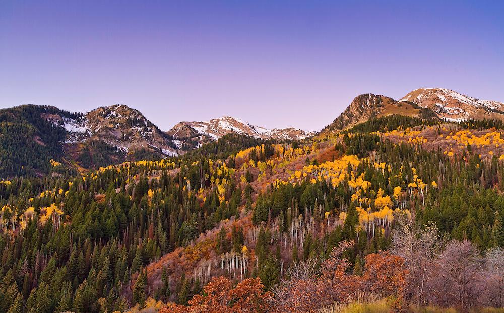 Fall Pictures Utah Utah Fall Mountain Colors