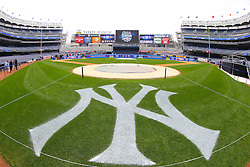 Aug 8, 2013; New York, NY, USA; Atmosphere shot inside  Yankee Stadium. Two outdoor regular-season NHL games will be played at Yankee Stadium during the 2013-14 season as part of the 2014 Stadium Series.
