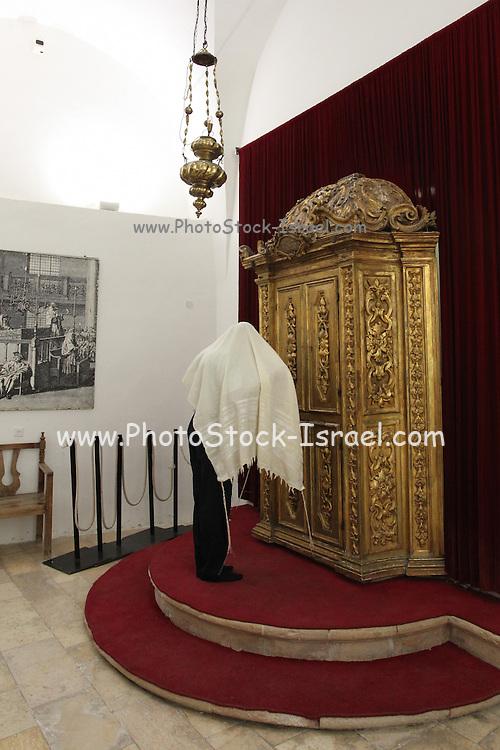 Israel, Jerusalem, Old City, Jewish Quarter, the Four Sephardic Synagogues complex. Istanbuli Synagogue