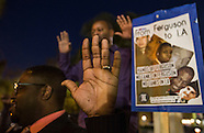 Ferguson protests in Los Angeles