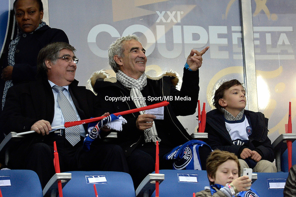 RAYMOND DOMENECH    - 11.04.2015 -  Bastia / PSG - Finale de la Coupe de la Ligue 2015<br />