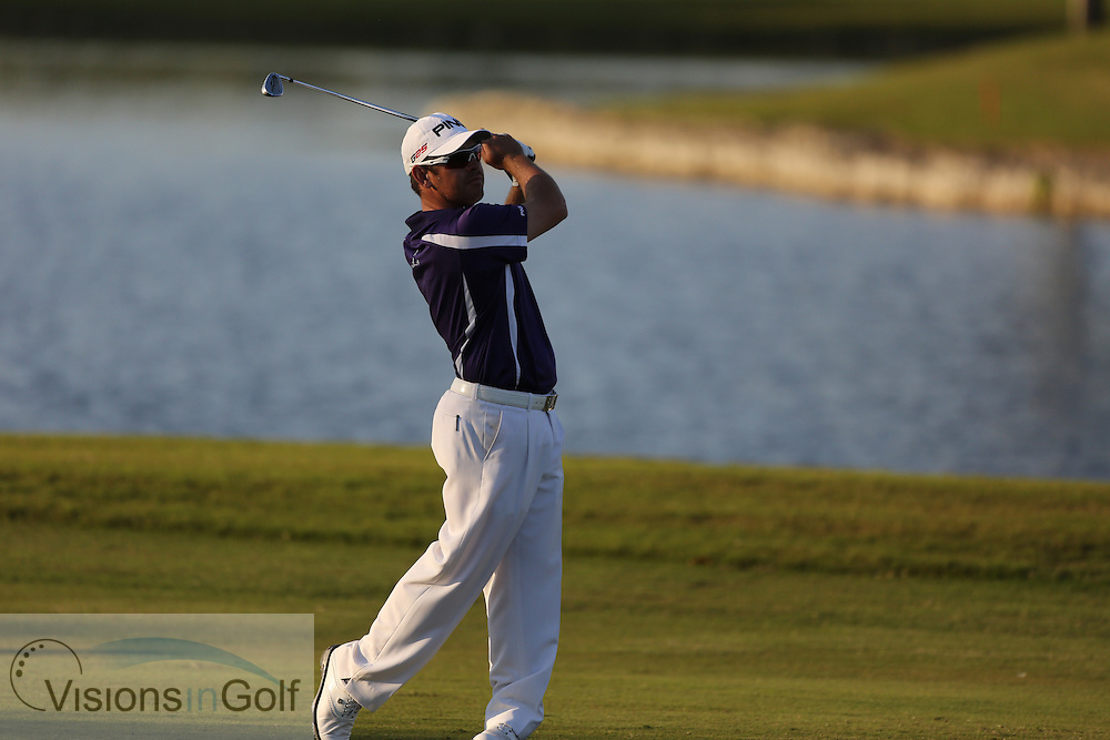 Louis Oosthuizen<br /> at the Cadillac WGC Doral, Miami, USA<br /> March 2013<br /> Picture Credit:  Mark Newcombe / www.visionsingolf.com