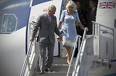 NOV 02 2014 Prince Charles & Camila arrive in Mexico