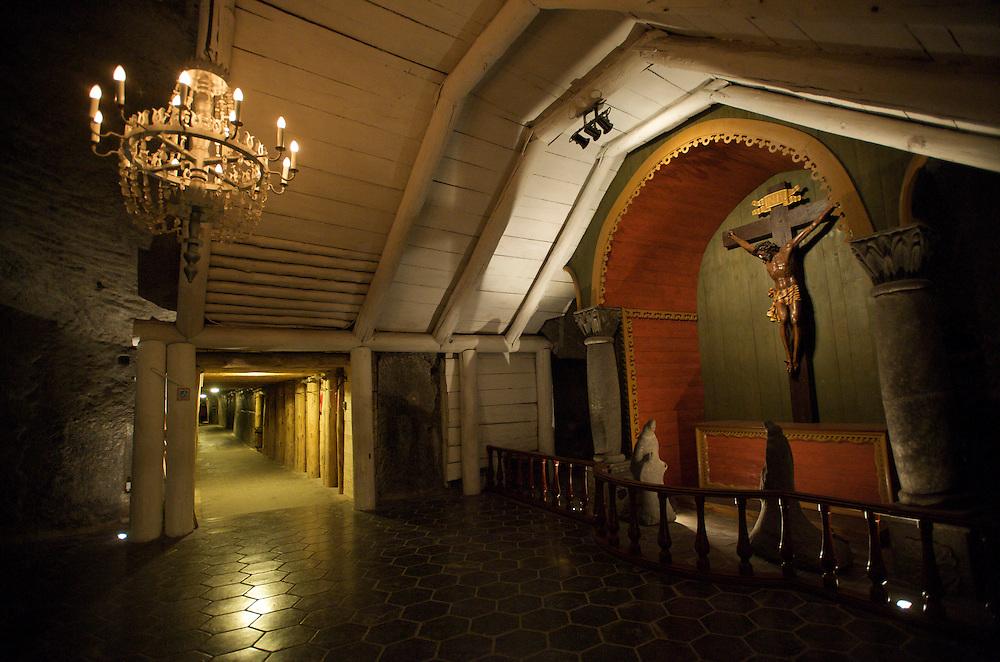 Wieliczka Salt Mine, Poland, The Holy Cross Chapel