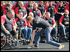 AUG 13 2014 Prince Harry with British Armed Forces Invictus Games Team