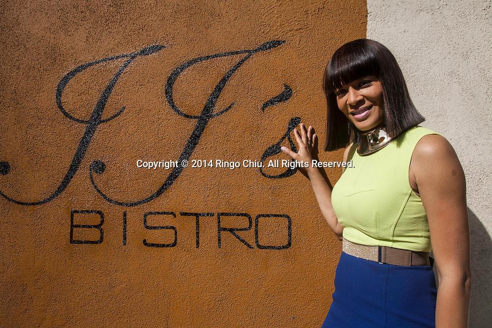Loretta Jones, owner of JJ's Bistro in Inglewood. (Photo by Ringo Chiu/PHOTOFORMULA.com)
