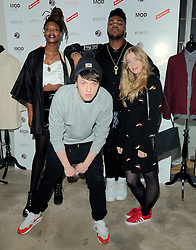 Chalin from Juce, MNEK, Will Rush and Becky Hill  attend March of the Mods launch party to celebratethe launch of  Richard Weight's new Green Label Collection and book at Gibson Lounge, Eastcastle Street, London, W1 on Wednesday 11 February 2015