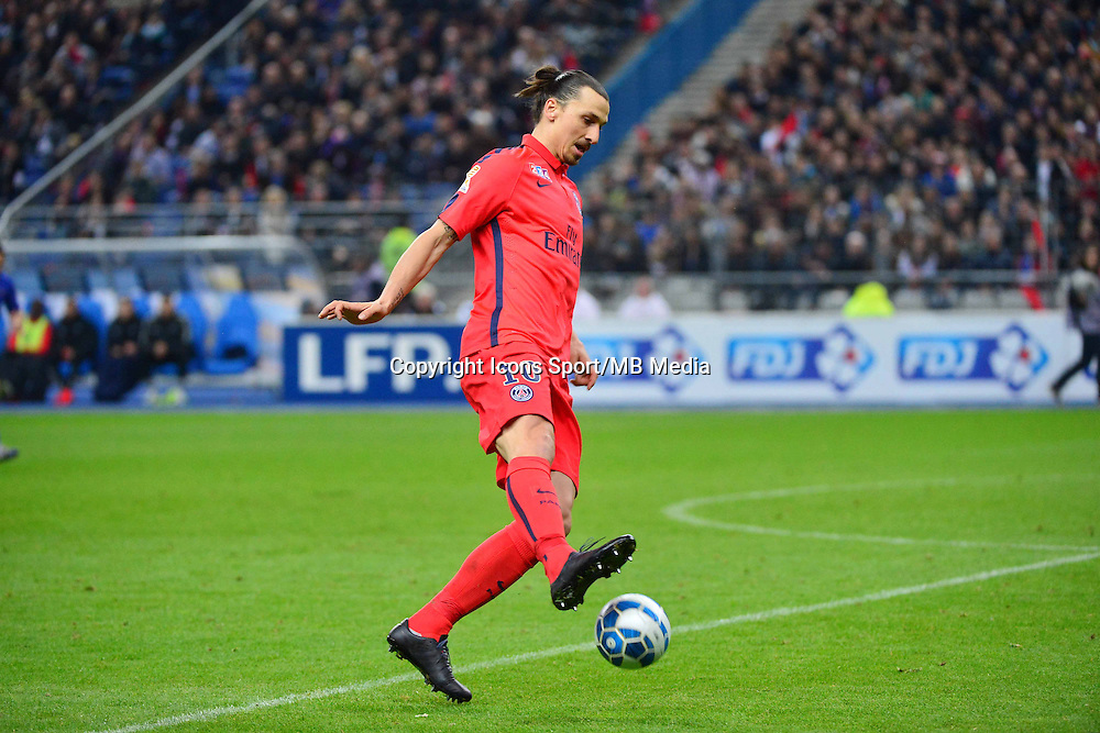 Zlatan IBRAHIMOVIC    - 11.04.2015 -  Bastia / PSG - Finale de la Coupe de la Ligue 2015<br />