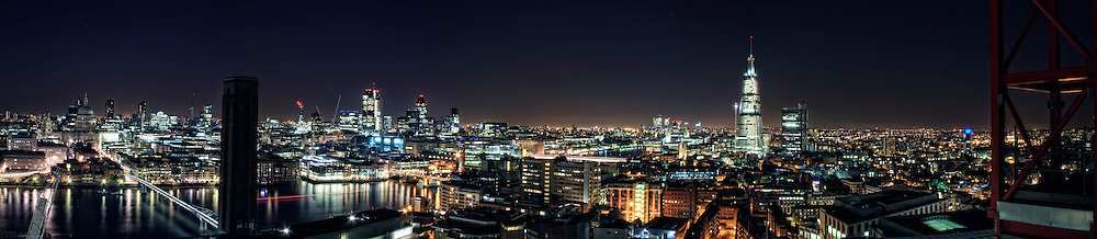 London Night Panorama