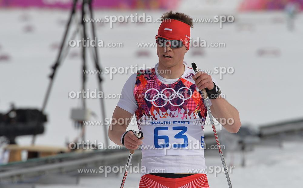 14.02.2014, Laura Cross-country Ski &amp; Biathlon Center, Krasnaya Polyana, RUS, Sochi, 2014, Herren Langlauf 15km, Classic, im Bild MACIEJ STAREGA // MACIEJ STAREGA during Mens Cross Country 15km Classic Race of the Olympic Winter Games Sochi 2014 at the Laura Cross-country Ski &amp; Biathlon Center in Krasnaya Polyana, Russia on 2014/02/14. EXPA Pictures &copy; 2014, PhotoCredit: EXPA/ Newspix/ TOMASZ JAGODZINSKI<br /> <br /> *****ATTENTION - for AUT, SLO, CRO, SRB, BIH, MAZ, TUR, SUI, SWE only*****