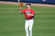 Ole Miss' Matt Tracy (29) makes a catch vs. Wright State at Oxford University Stadium in Oxford, Miss. on Sunday, February 20, 2011. Ole Miss won 6-5 to improve to 3-0 on the season.