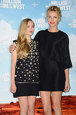 MAY 27 2014 A Million Ways To Die In the West Photocall