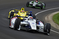 Mikhail Aleshin, Indianapolis 500, Indianapolis Motor Speedway, Indianapolis, IN USA 5/25/2014