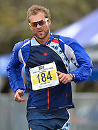 CAPE TOWN, SOUTH AFRICA - OCTOBER 08: Marc Mundell of AGN (Olympian) in the senior mens 10km but he was later disqualified for not wearing his age category badge during the ASA 50km and Interprovincial Race Walking Championships at Youngsfield Military base on October 08, 2016 in Cape Town, South Africa. (Photo by Roger Sedres/Gallo Images)